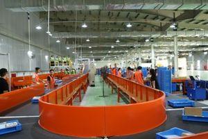 Hệ thống phân loại hàng hóa tự động đầu tiên tại Hà Nội của Lazada có quy mô 10.000 sản phẩm/giờ