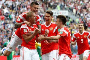 Tuyển Nga mở màn World Cup 2018 bằng chiến thắng 5 sao