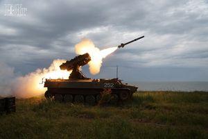 Mục kích phòng không Nga thi tài bắn hạ mục tiêu trên không