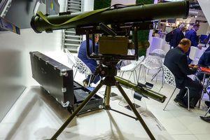 Ukraine khoe hệ thống tên lửa chống tăng Corsar tại Eurosatory 2018