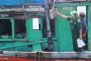 Nhiều tàu cá Quảng Ngãi bị tàu Trung Quốc tấn công ở Hoàng Sa