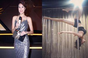 Siêu mẫu Phương Mai tung clip múa cột điêu luyện 'gây sốt'