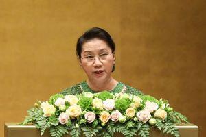 'Quốc hội biểu dương tinh thần yêu nước của nhân dân'