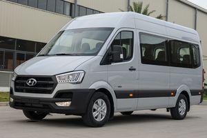 Hyundai Solati giá 1,08 tỷ đồng, đối đầu Ford Transit ở VN