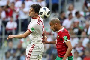 Morocco 0-1 Iran: Hậu vệ Morocco phản lưới nhà đúng phút cuối