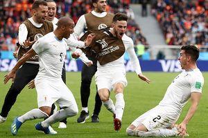 Thắng lợi của đội tuyển Uruguay và nỗi thất vọng mang tên Suarez