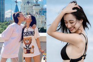 Hoàng Oanh ôm hôn Hoàng Yến Chibi thắm thiết tại Hàn, Jun Vũ ở nhà tung bộ ảnh sexy đốt mắt fan