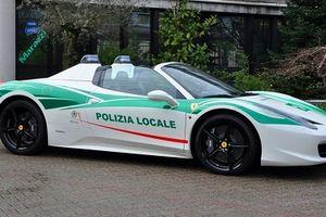 Cảnh sát Ý trưng dụng siêu xe của mafia làm xe công vụ