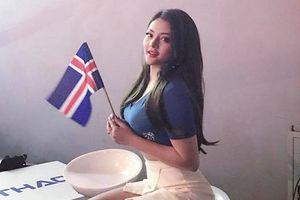 Hot girl nóng bỏng của 'Kem Xôi' nhỡ mê Iceland tại World Cup 2018