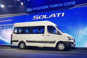 Hyundai Solati giá 1,08 tỷ cạnh tranh Ford Transit ở Việt Nam