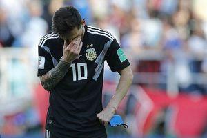 Dứt điểm tệ chưa từng thấy, Messi từ siêu sao thành 'tội đồ'