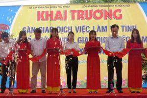 Hà Nội: Khai trương Điểm giao dịch việc làm vệ tinh tại Phú Xuyên