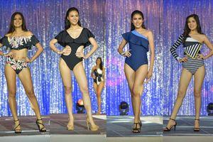 Mặc bikini lỗi mốt, ứng viên Hoa hậu Hoàn vũ Thái Lan bị dìm dáng đáng tiếc