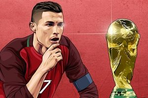 Biếm họa 24h: Lập hat-trick trước Tây Ban Nha, Ronaldo mơ vô địch World Cup