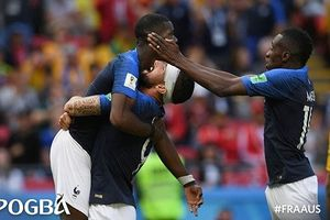 Pogba tỏa sáng, ĐT Pháp nhọc nhằn đánh bại Australia 2-1