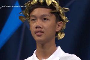 Nam sinh Quảng Trị nhất cuộc thi tuần Olympia với 300 điểm