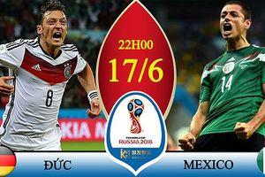 Đức vs Mexico: Cuộc chiến của đại bàng