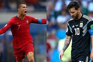 Ronaldo từng bị Iceland 'đóng băng' giống Messi