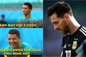 Đá hỏng penalty, Messi trở thành 'trò cười' trên mạng xã hội