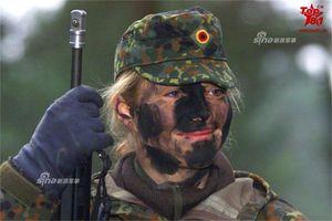 Ngạc nhiên nhan sắc nữ binh sĩ Bundeswehr trong Quân đội Đức