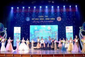 Hà Thy đoạt ngôi quán quân Nữ sinh tài năng - thanh lịch Quảng Ngãi