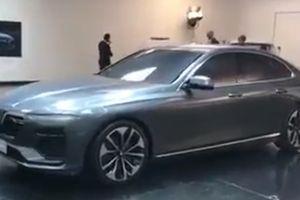 Lộ hình ảnh được cho là xe ô tô Vinfast sắp dự Paris Motor Show
