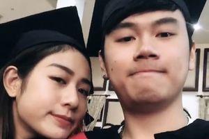 Kết hôn rồi đến có con, cuối cùng cặp hotteen 'ba chung' Tùng Sơn - Trang Lou cũng khoe ảnh 'chè tươi' ngày ra trường