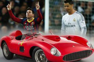Không phải Ronaldo, Messi mới là người có xe đắt nhất giới cầu thủ