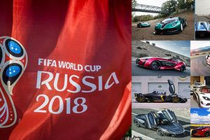 Top xe ôtô đẹp nhất của các quốc gia dự World Cup 2018