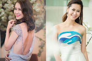 Vẻ đẹp mặn mà của Dương Thùy Linh thi hoa hậu ở tuổi 35
