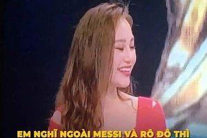 VTV hứng 'gạch, đá' của NHM vì mời hot girl bình luận World Cup 2018