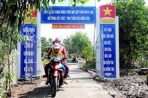Huyện Năm Căn gặp khó trong xây dựng nông thôn mới