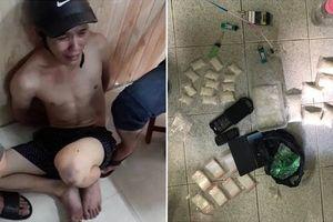 Nổ súng bắt 'ông trùm' chuyên bỏ sỉ ma túy