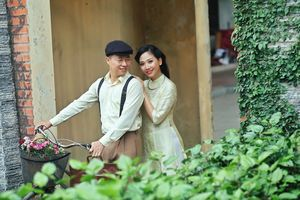 Cặp đôi MC Lê Anh - Mỹ Vân tình tứ trong MV âm nhạc lần đầu ra mắt
