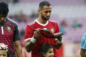 Khoảnh khắc nức lòng người hâm mộ của đội trưởng tuyển Morocco