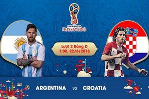 Nhận định World Cup Argentina - Croatia: Không gắng vũ công Tango sẽ về nước