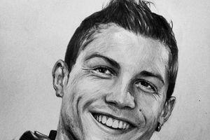 Chàng trai vẽ dàn sao World Cup sống động như thật