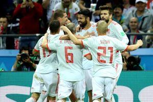 Hạ Iran, Tây Ban Nha xếp trên Bồ Đào Nha nhờ đếm... thẻ vàng