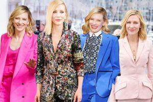 Diễn viên Cate Blanchett - 'Bà hoàng' của những bộ suit thời thượng