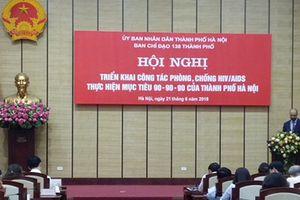 Hà Nội cam kết thực hiện mục tiêu 90 – 90 – 90 phòng chống HIV/AIDS