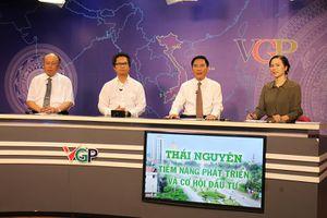 Tọa đàm trực tuyến 'Thái Nguyên, tiềm năng phát triển và cơ hội đầu tư'