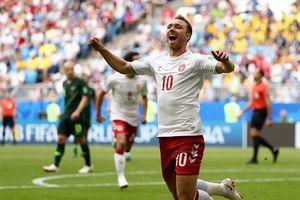 Eriksen ghi bàn, Đan Mạch vẫn bị Australia 'cưa điểm'
