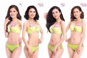 Trọn bộ ảnh bikini nóng bỏng của 30 ứng viên 'Hoa hậu Việt Nam 2018' đầu tiên