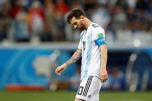 Những con số đáng thất vọng của 'Albiceleste' sau trận thua Croatia