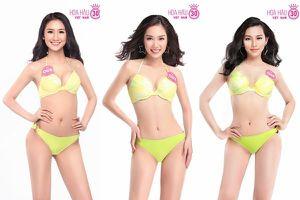 Công bố ảnh bikini của thí sinh Hoa hậu Việt Nam 2018, tiết lộ số đo ba vòng