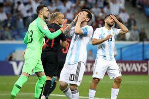 Argentina 0-3 Croatia: Vũ công Tango thua thảm ngày Messi 'xấu xí'