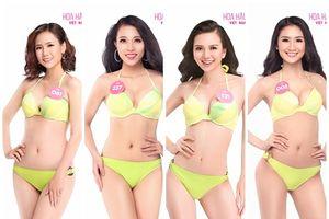 Ngắm trọn bộ ảnh bikini 'nuột như nhung' của Top 30 Chung khảo phía Nam Hoa hậu Việt Nam 2018