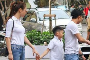 Đàm Thu Trang chúc mừng sinh nhật con trai của Cường Đô la và Hồ Ngọc Hà
