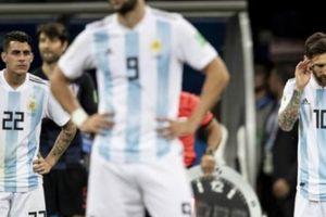Thua thảm Croatia, hàng loạt ngôi sao giã từ ĐT Argentina?