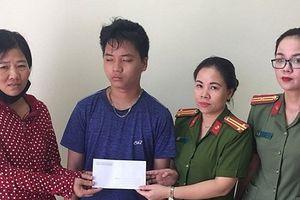Hành động tình nghĩa của cán bộ CA huyện Thanh Trì